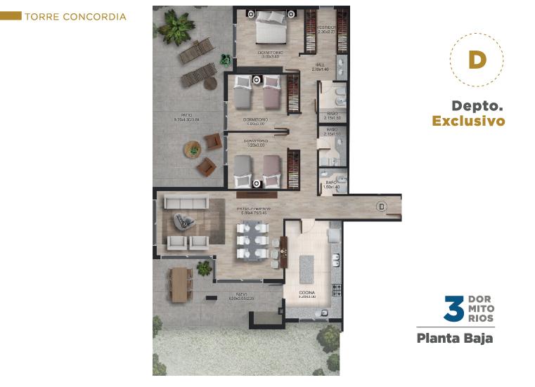 Planta Baja D CONCORDIA
